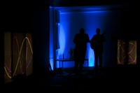 Projektionen von Hermann Edel - Musik von Helmut Engelhardt und Martin Haberer