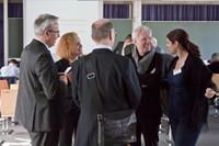 Präsident der TU Kaiserslautern und Dekan des Fachbereichs Architektur im Gespräch