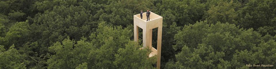 Biosphärenturm Kaiserslautern, Projekt von Michael Lakatos, FB Biologie und Peter Spitzley, FB Architektur - Architekturbüros kirchspitz und .pg1 - Foto Sven Paustian