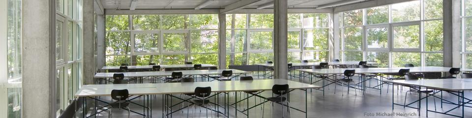 Arbeitsraum im Fachbereich Architektur der TU Kaiserslautern